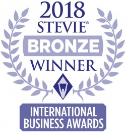 2018 Stevie Bronze Winner International Business Awards