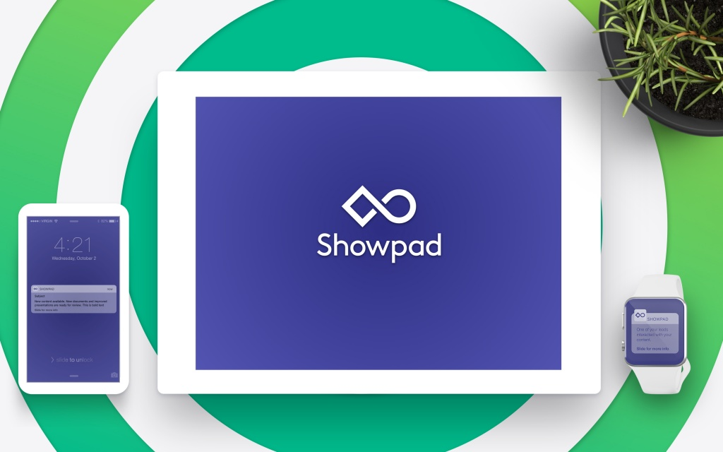 Showpad updated branding