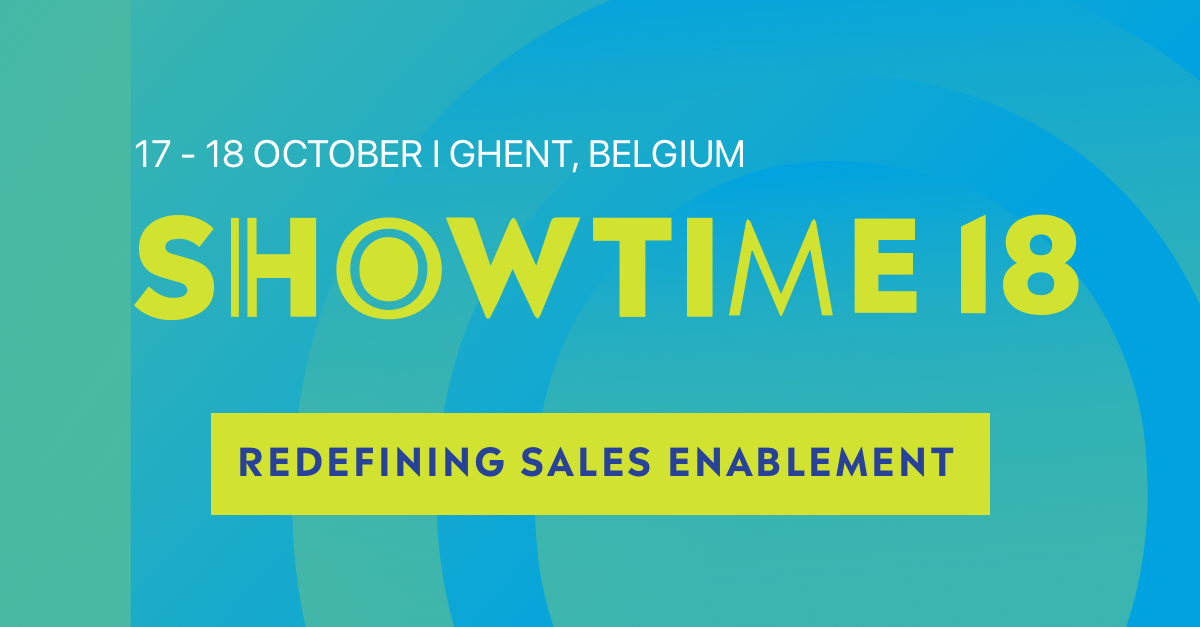Showtime, Europe's Largest Sales Enablement Conference, Returns for 6th Year with Inspiring Roster of Keynotes, Speakers