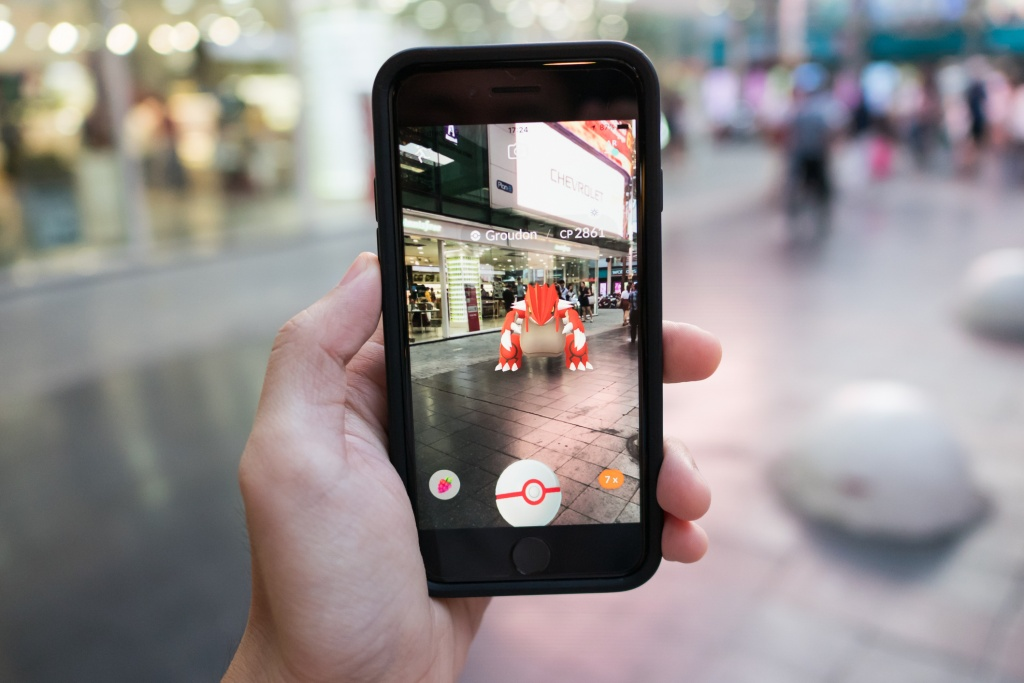 Augmented reality Pokemon Go
