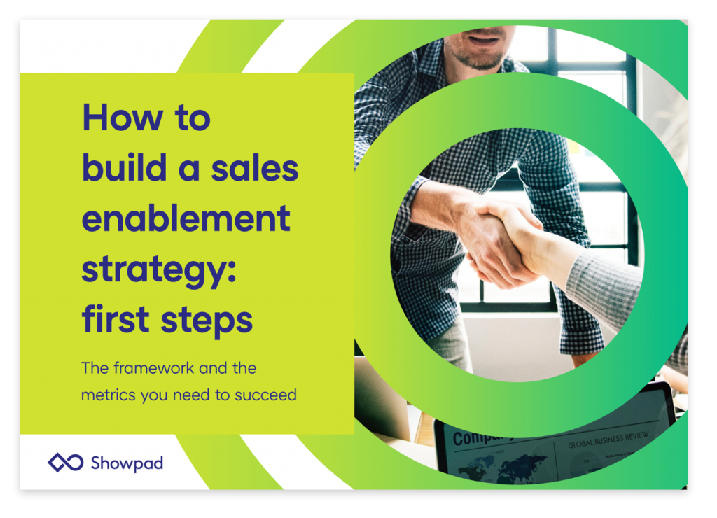 How to build a sales enablement strategy: first steps - the framework and metrics you need to succeed