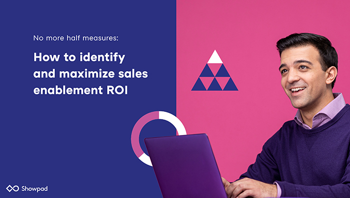 How to identify and maximize sales enablement ROI