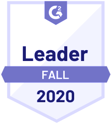 G2 Leader Sales Enablement 2020 Fall